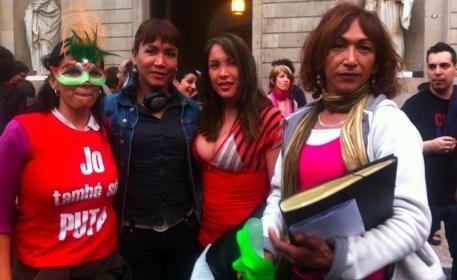 tipos de feminismo callejeros prostitutas barcelona