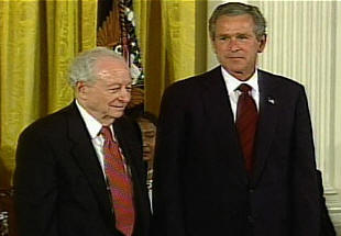 irving kristol and george w bush