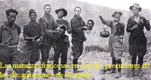 Franceses en Argelia