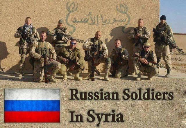 rusos en siria