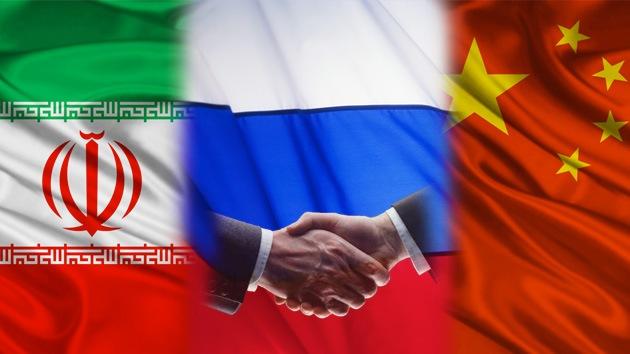 rusia china iran